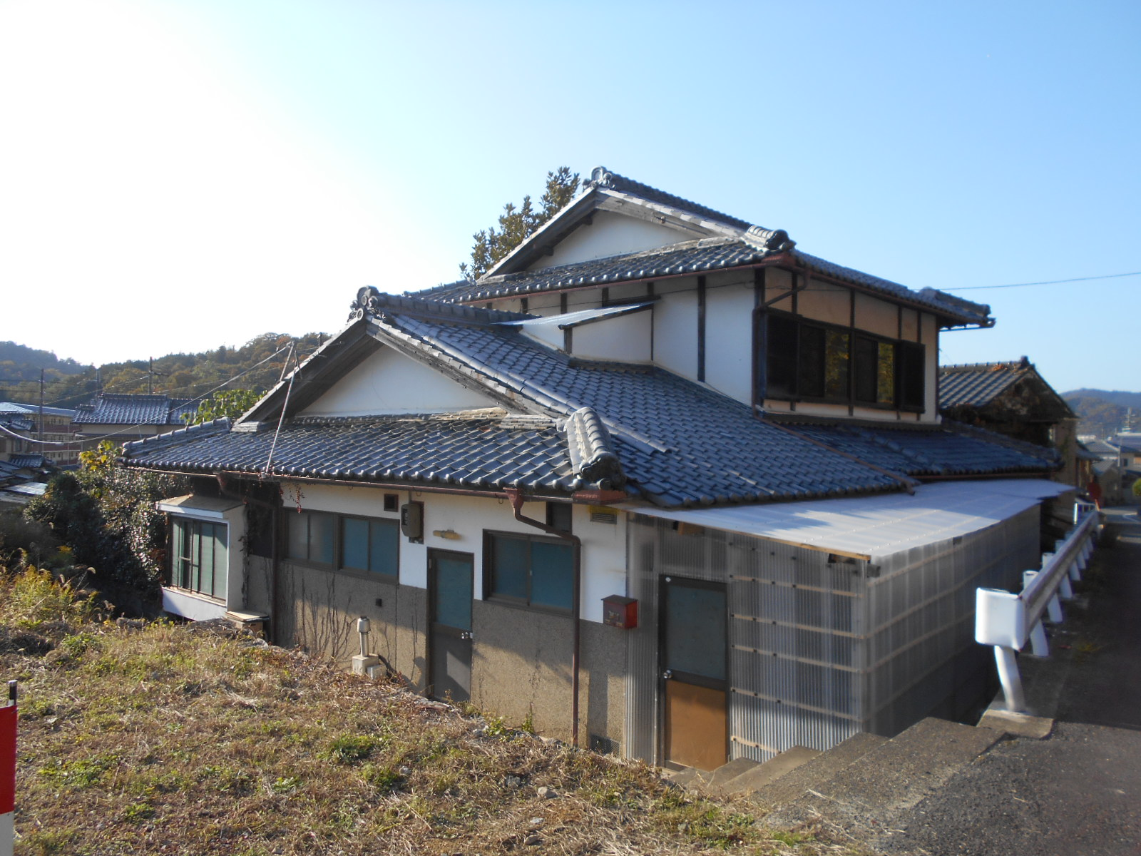 Nantan Sonobe Oyamanishimachi Old house